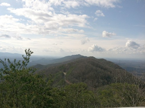 the view from look rock tower