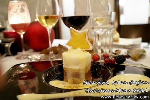 Nerovivo, Jalan Ceylon - christmas menu 2011-10