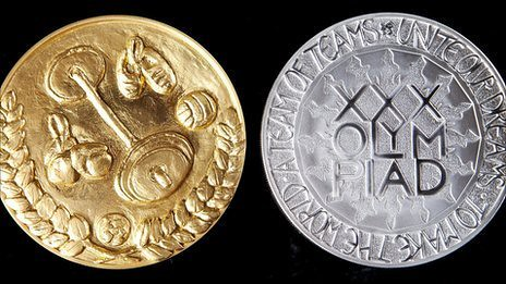 2012 Olympic Coins