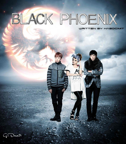 (10-38) The Black Phoenix by G-Dara21