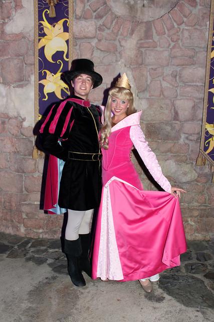 Meeting Prince Phillip and Princess Aurora