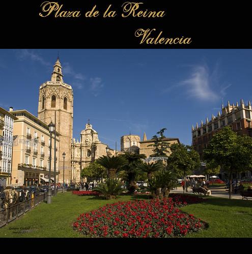 Plaza de la Reina. Valencia by Quique Castell