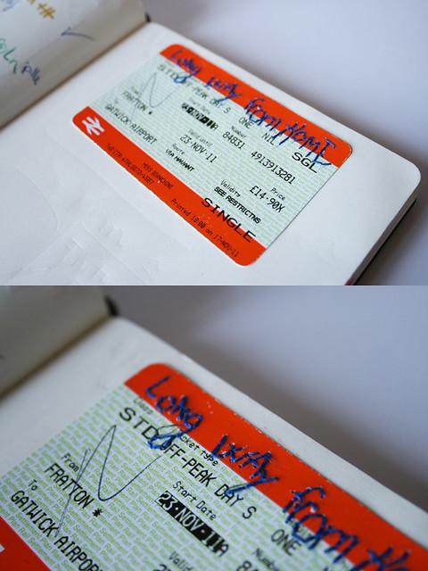 Stitch your ticket-love