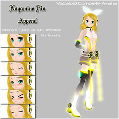 -2St.- Kagamine Rin Append