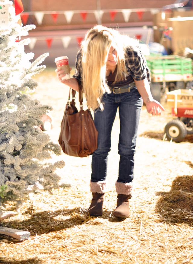 jeans-croc boots-kooba bag-christmas lot