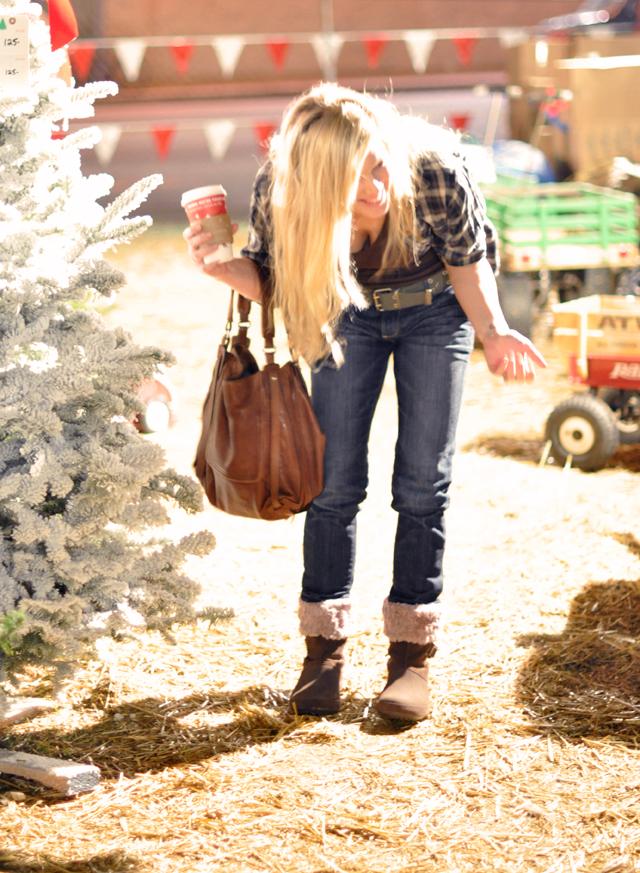 jeans-croc boots-kooba bag-christmas lot