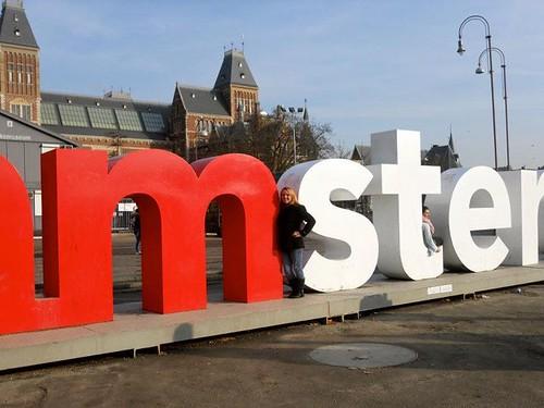 Amsterdam I Amsterdam sign