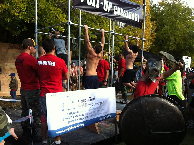 Spartan Race Pull Up Challenge