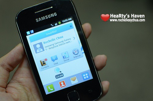 """Samsung Galaxy Y (Black) - 3G , 3"""" 2MP Camera - Samsung UK"""