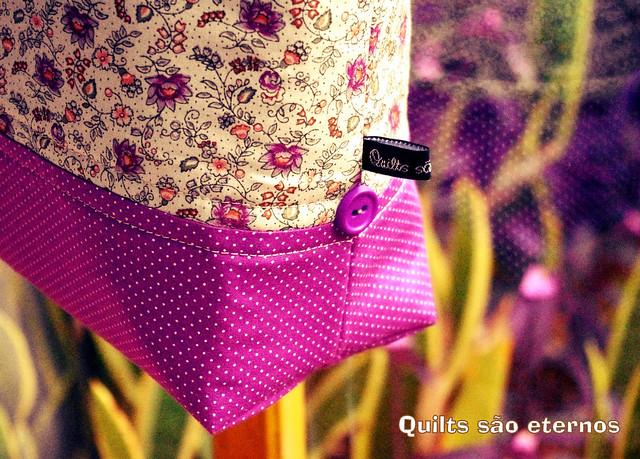 Bolsa Baldinho Floral