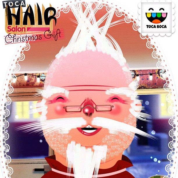 I got the pai mei cc tocaboca toca hair salon free xmas for Surreal salon 8