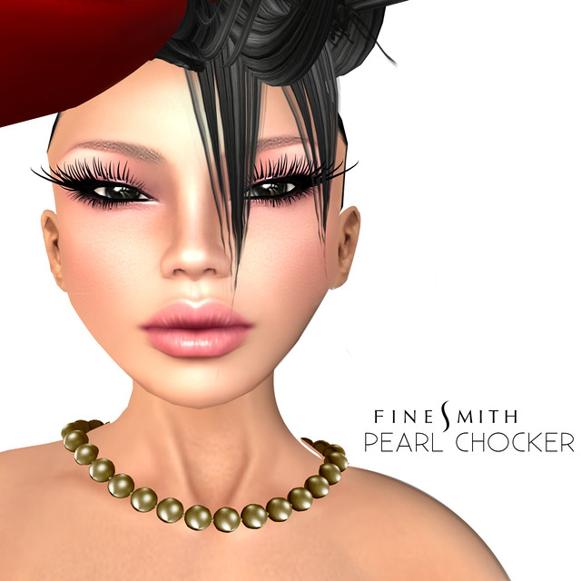 FINESMITH Pearl chocker Gold