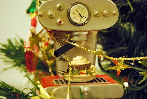 Espresso maker ornament