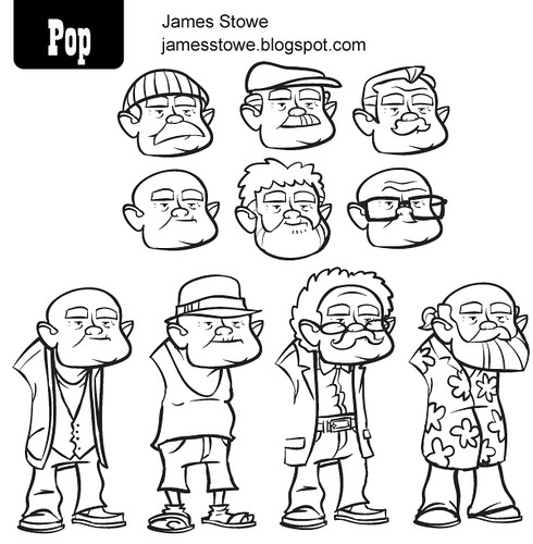 Pop and Locke's Last Heist - James-Stowe-Sketches---Pop