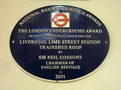 Photo of Black plaque № 9111
