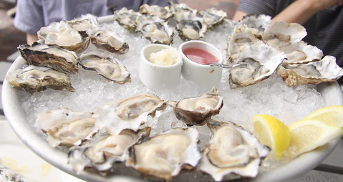 Oysters, The Walrus and the Carpenter, Seattle