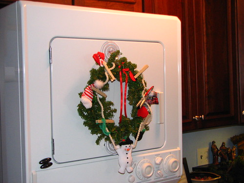dryer wreath
