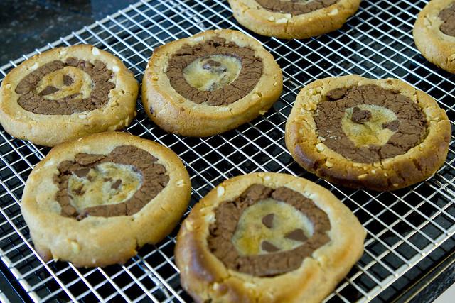 Bullseye Cookies cooling wrack 2