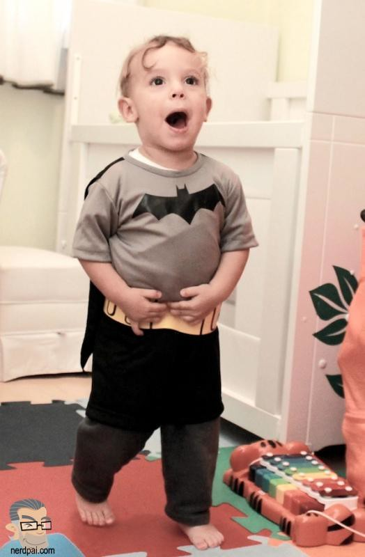 Batman Fantasia uniforme