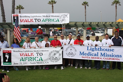 RobinArcuri Walk To Africa Charity Event