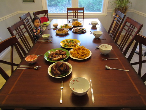 thanksgiving 2011 spread