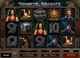Immortal Romance slot game online review