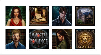 free Immortal Romance slot game symbols