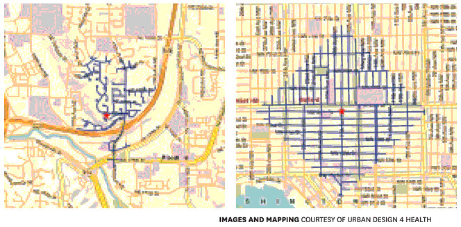 Street Grid Walkability