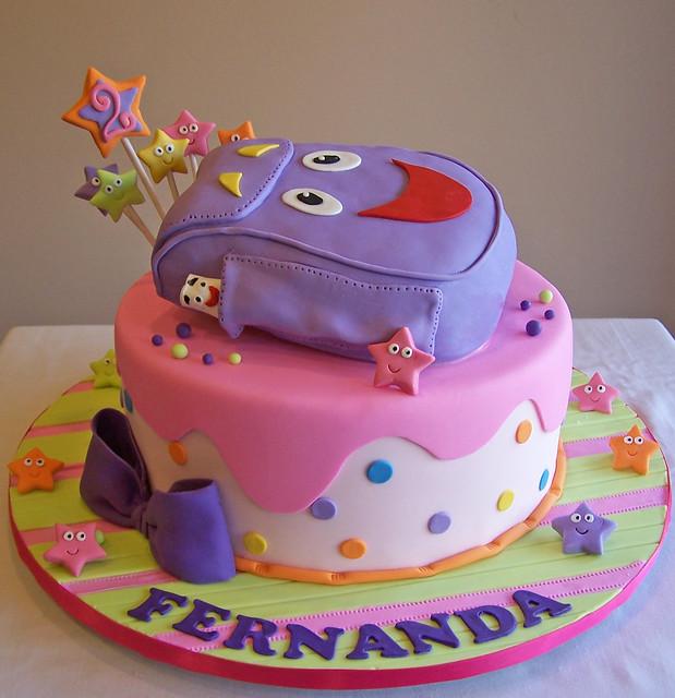 Dora inspired cake Flickr - Photo Sharing!