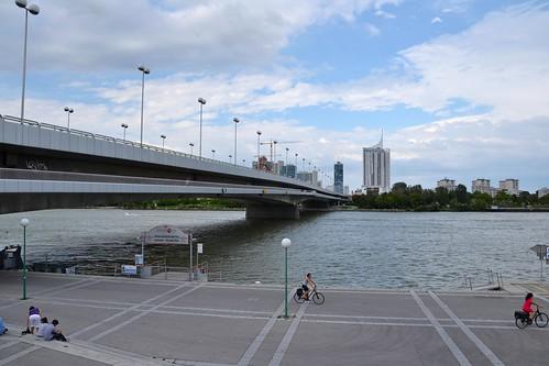 El Danubio a su paso por Viena