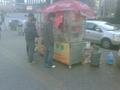 Jian bing 煎饼 food cart beijing
