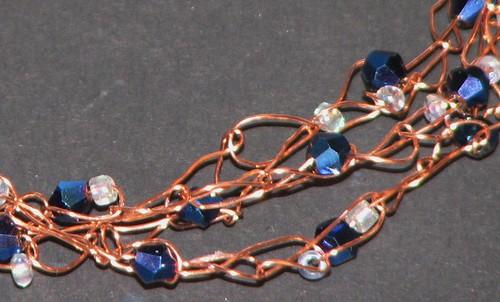 Crochete Wire Bracelet 018