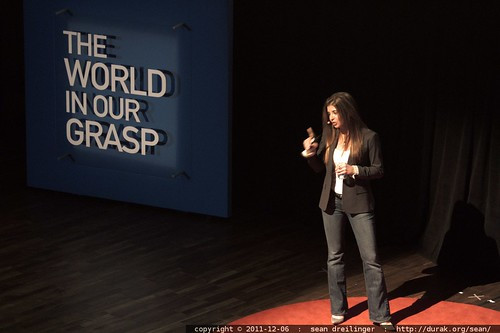 Fernanda Gandara, Senior Vice President of Business Development at Synthetic Genomics, Inc addresses TEDxSanDiego    MG 3908