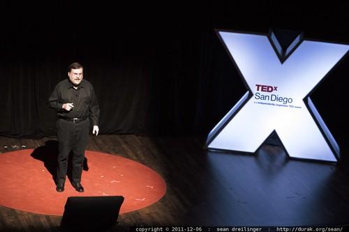 Tony Haymet of the Scripps Institution of Oceanography addresses TEDxSanDiego    MG 4076