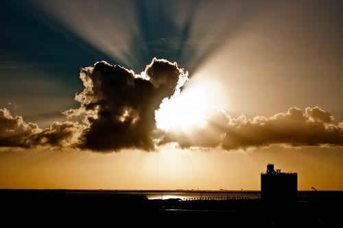 無料写真素材, 自然風景, 空, 雲, 薄明光線, 風景  アメリカ合衆国