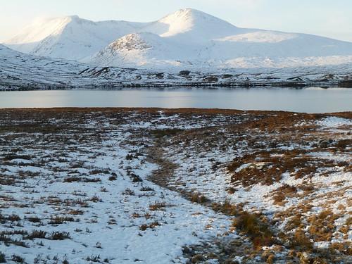 Scottish Highlands in Winter