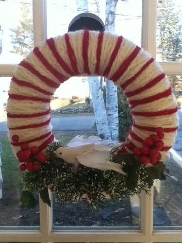 Wreath made today by artstreamstudios