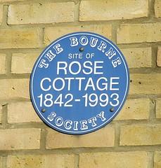 Photo of Rose Cottage, Whyteleafe blue plaque