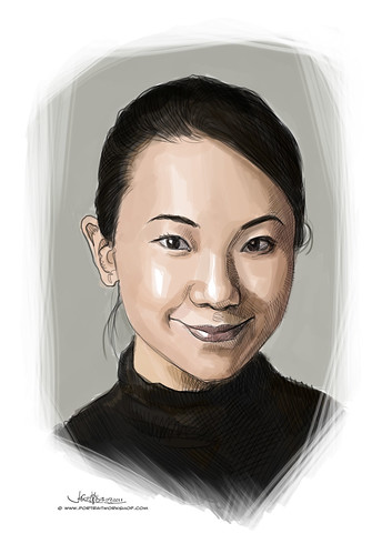 digital portrait of Lim Sau Hoong