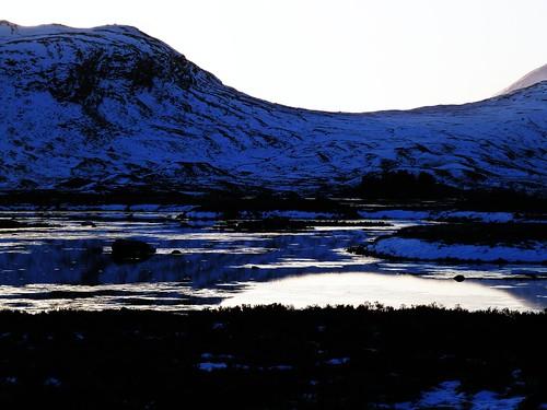 Winter Scene, Rannoch Moor
