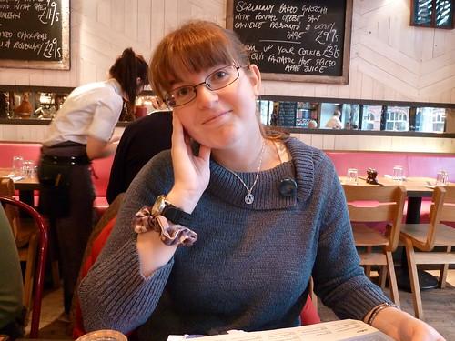 Kirsty at Jamie's Italian