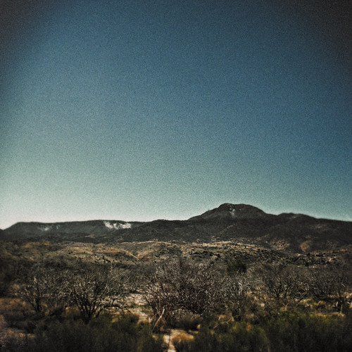 2008, Toward Show Low, Arizona, from the Petrified Forest by Juli Kearns (Idyllopus)