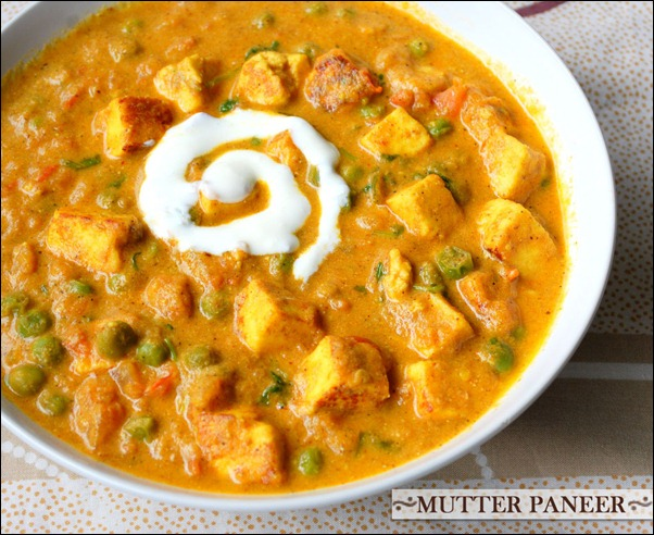 Matar paneer recipe, Paneer mutter masala - Raks Kitchen