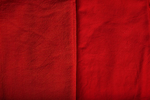 Vermillion Solid Fabric