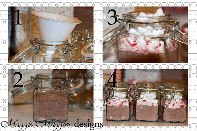 Hot Chocolate Jar Steps