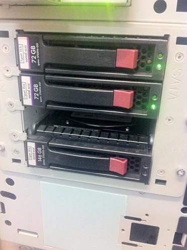 HP 146GB 15K rpm SAS fail #2