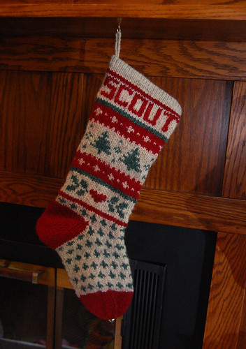 Scout's Stocking
