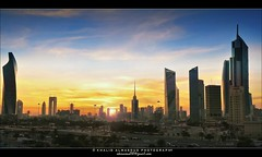 Kuwait City at Dusk