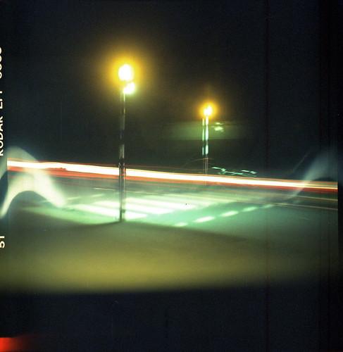 Crossing, Halina Viceroy - Kodak Ektachrome 100Plus