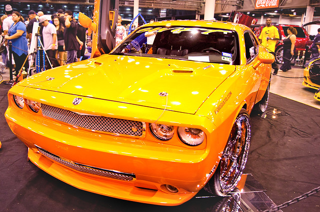 SWIFT Dodge Challenger | 29th Annual Los Magnificos Car Show | 020